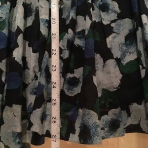 BB Dakota Dresses - Blue Floral Short Dress
